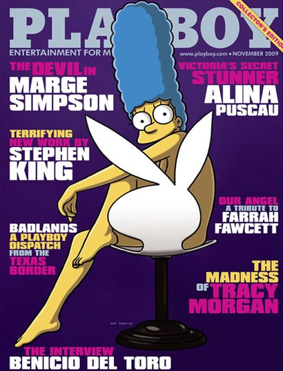 Marge Simpson - Playboy Cover
