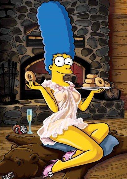 Marge Simpson Playboy 2