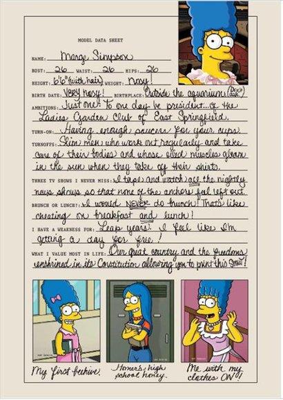 Marge Simpson Playboy 3